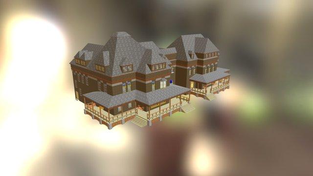 Penn State University 1922: Women's Building 3D Model
