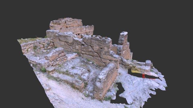 El Castillejo - Building 4 3D Model