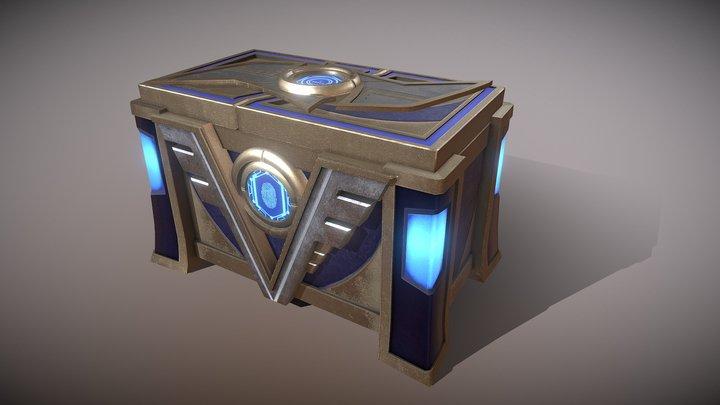 TreasureBox1 3D Model