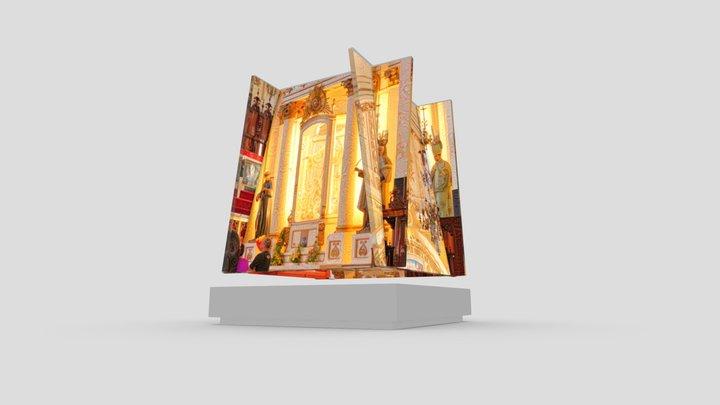 Guadalajara Cathedral: Sloped Planes Quartet 3D Model
