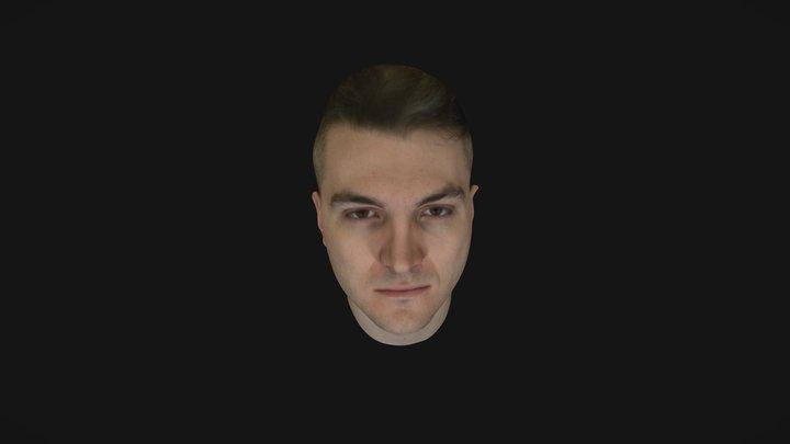 Noah Head Scan - Low Quality 3D Model