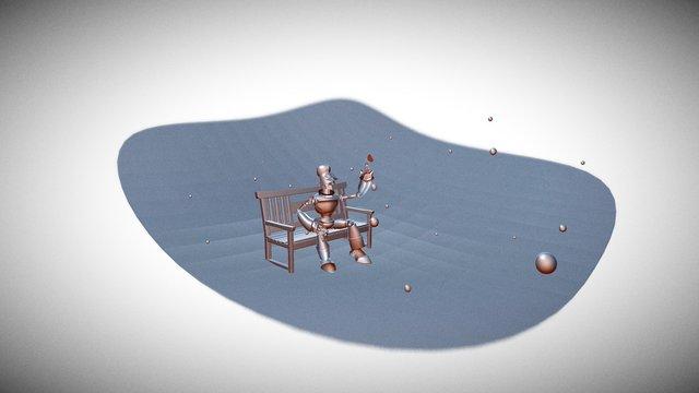 Romantic DanteVI 3D Model