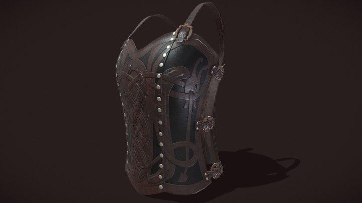 Viking_Chest_Armor_FBX 3D Model