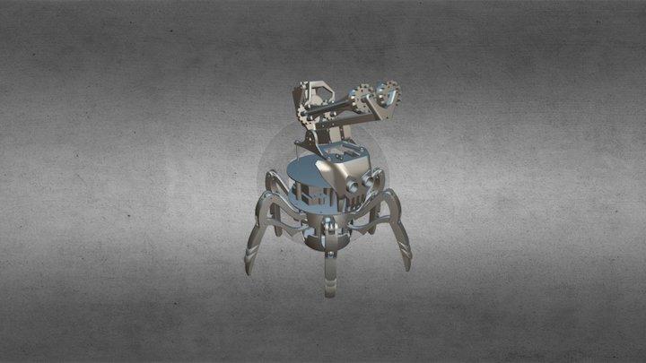 XPIDER Robot 3D Model