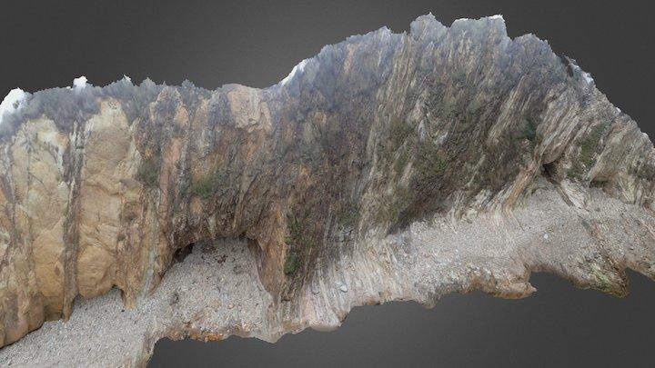 Melville Point south cliff v2 3D Model