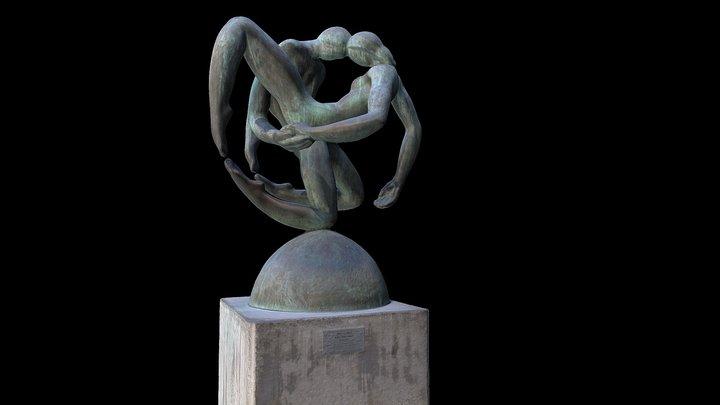 2018-06 - Santiago - Sculpture 18 3D Model
