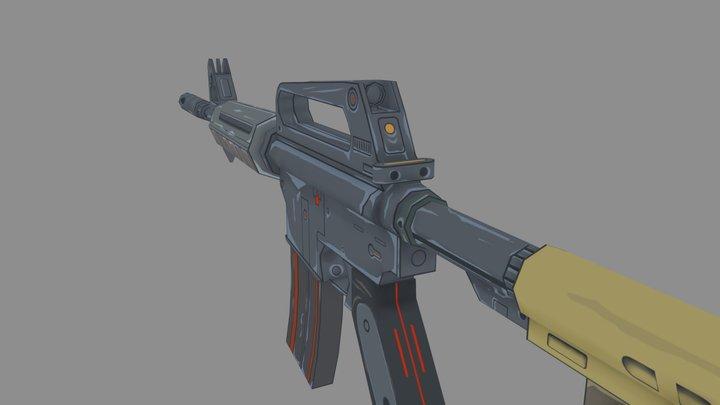 M16 3D Model