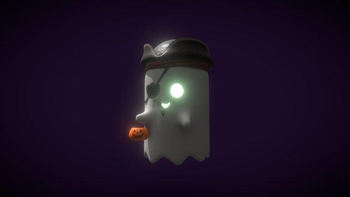 Halloween Ghost 3D Model