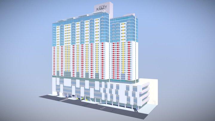 Grant Hyatt Hotel 3D Model