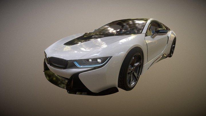 Unlock Super Sports Car 07 3D Model