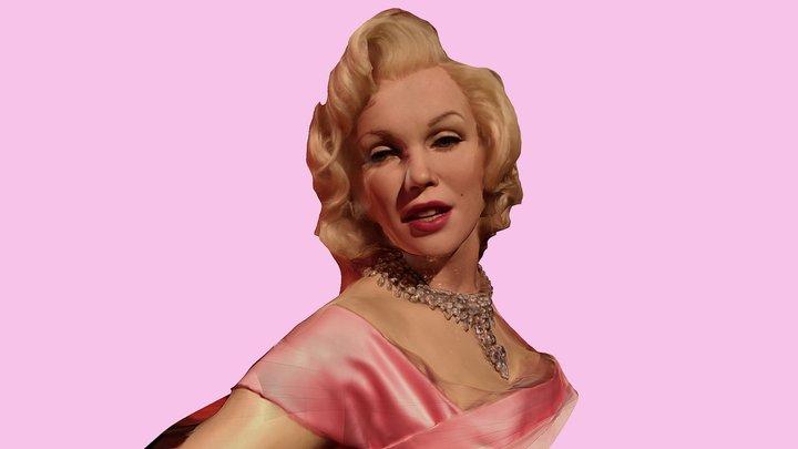 Marilyn Monroe 3D Model