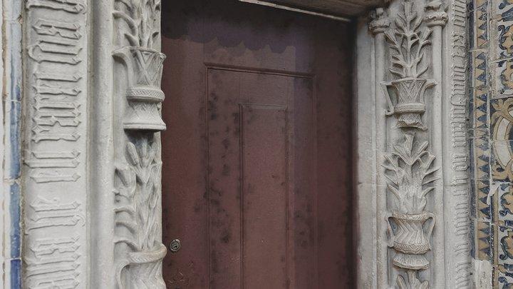 Porta de Sacristia 3D Model