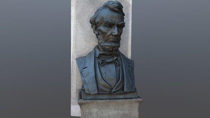 Abraham Lincoln Monument 3D Model