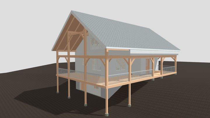 Simple Cape Preliminary 3D Model