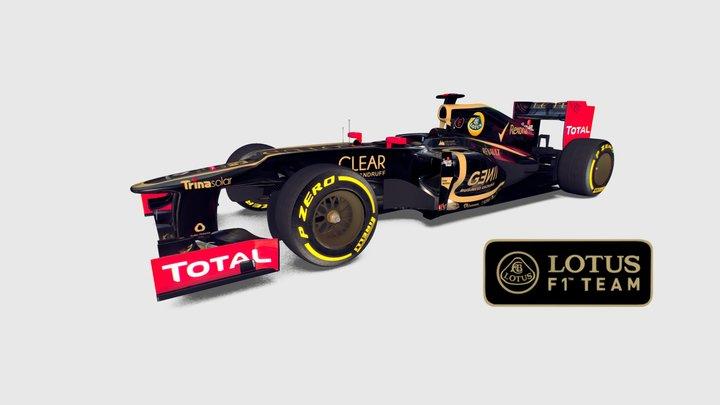 Lotus E20 3D Model