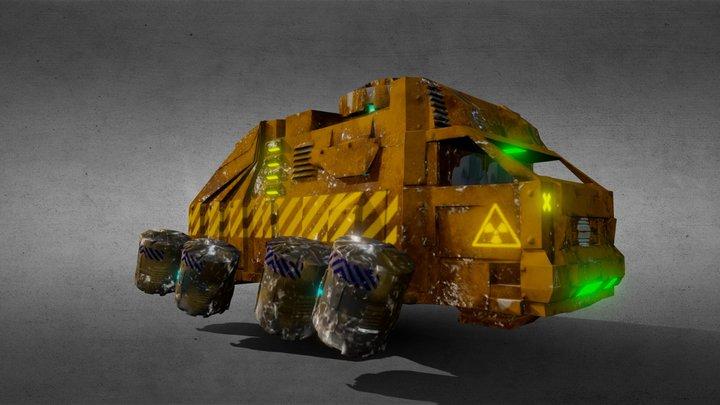 Перевозчик ядерных отходов 3D Model