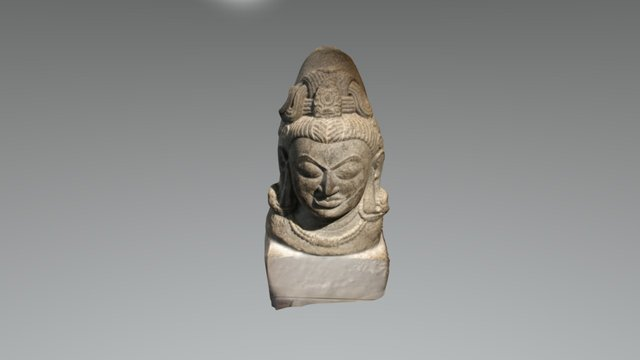 Ekamukhalinga - Musee Guimet, Paris, France 3D Model