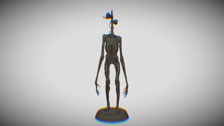Siren Head -  detalization model for 3d printer 3D Model
