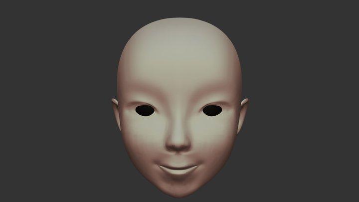 Momo 3D Model