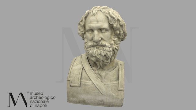Erma di Archidamo III di Sparta 6156 3D Model