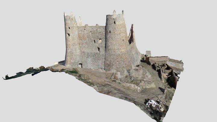 Castillo de Jarque Estado Final 3D Model