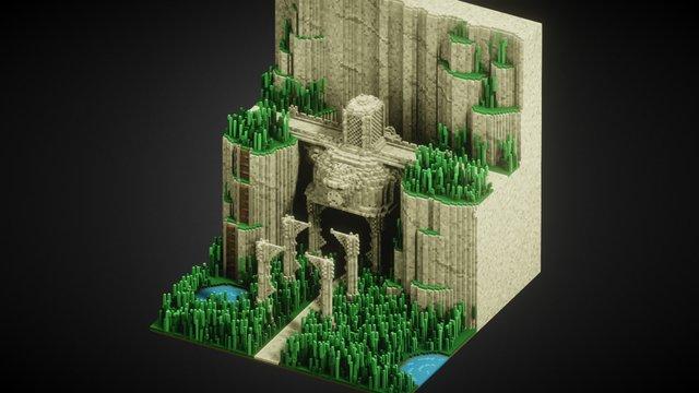 Voxel Baking 3D Model