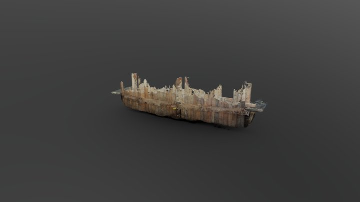 Tranchée blindée réseaux GAZ -- Trench3D 3D Model