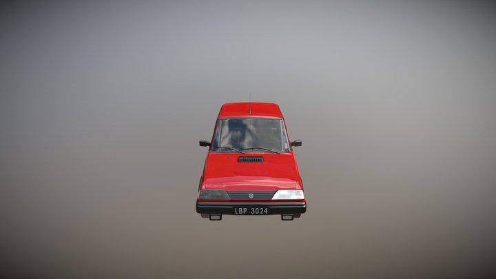 FSO Polonez Caro 3D Model