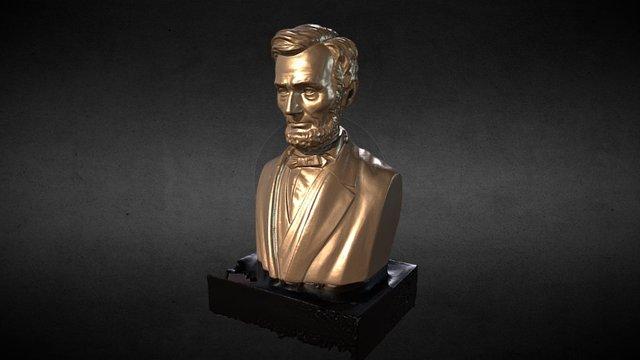 Abraham Lincoln Bust 3D Model