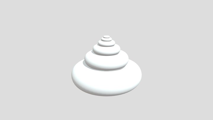 288 Degree Torsion Temple 3D Model