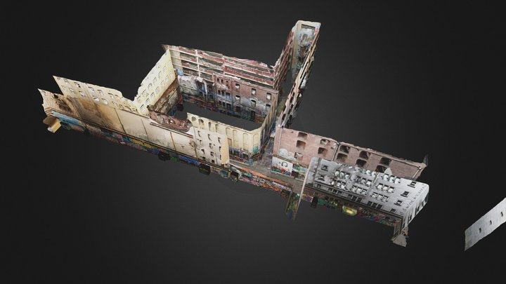 Hosier Lane 8/4/16 3D Model