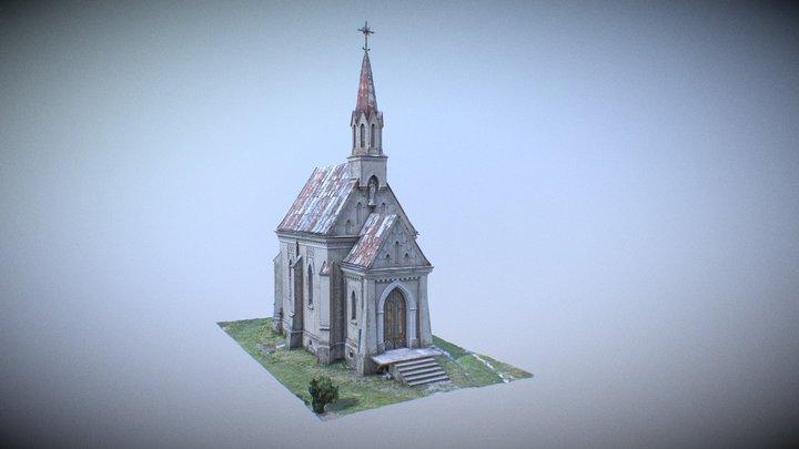The Burial Chapel - Village Dub(Poland) 3D Model