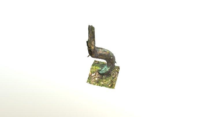 Sausenis mežā 3D Model