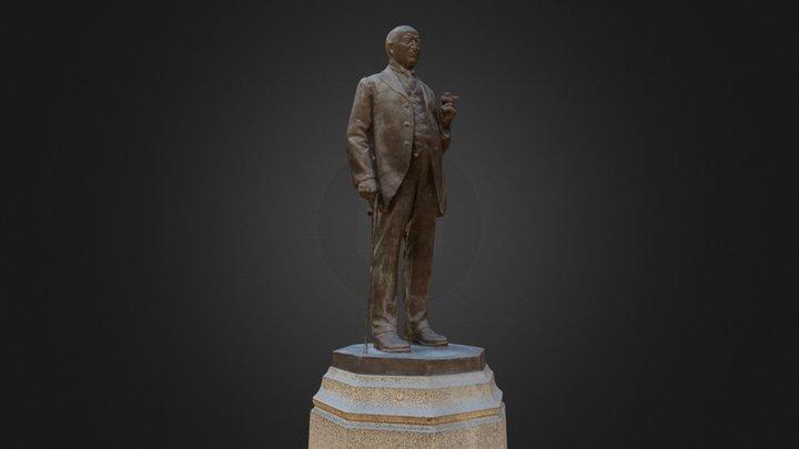 James Duke Statue 3D Model