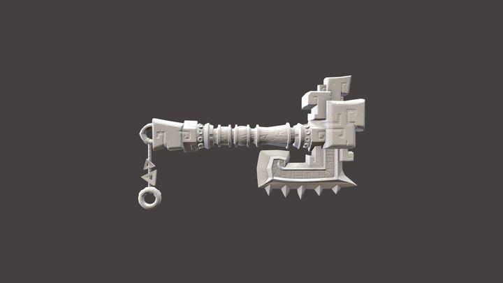 Kura-Kura (Fan_art_Wow_Mists_of_Pandaria) 3D Model