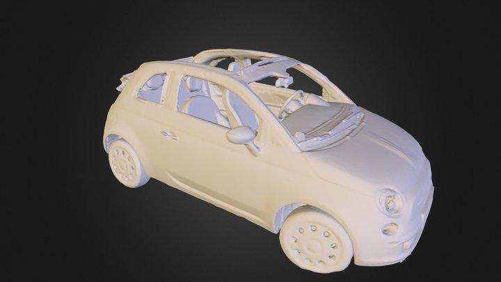 Fiat 500 Cabrio 3D Model