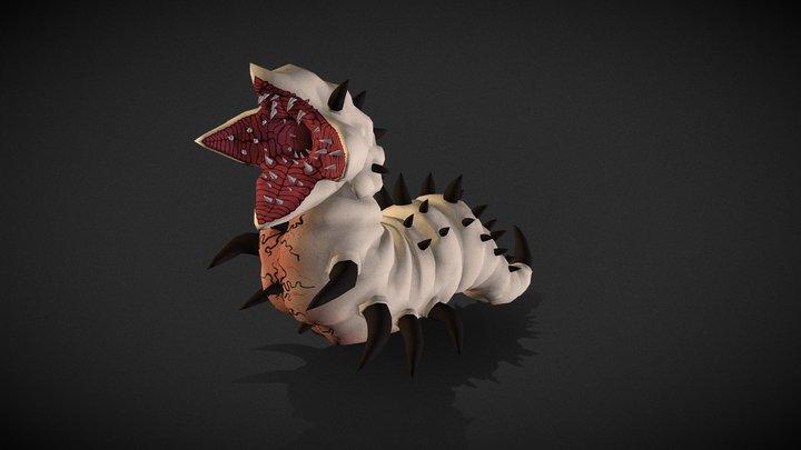 Cur Larva 3D Model