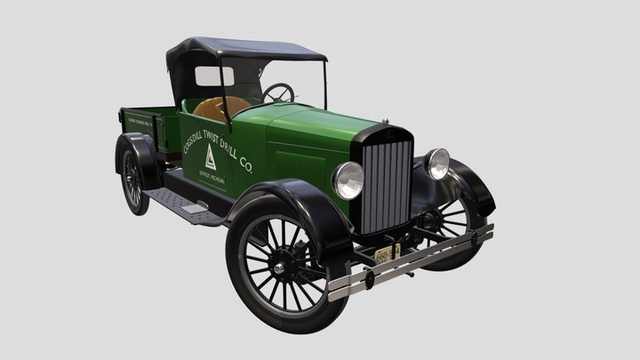 Cogsdill Model T 3D Model
