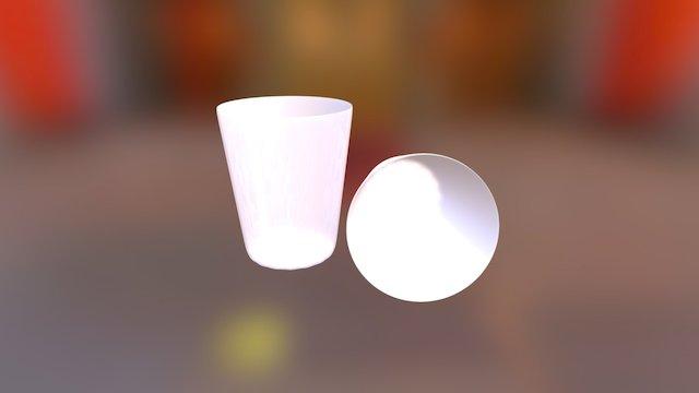 Gelas Realistik 3D Blender 3D Model