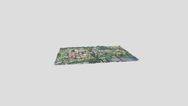Pevnost Terezín 3D Model
