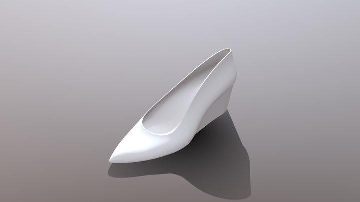 ウェッジソールパンプス / Wedge sole pumps 3D Model