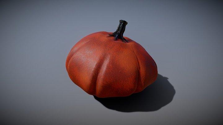 Baked Pumpkin from Fall 2018 3D Model
