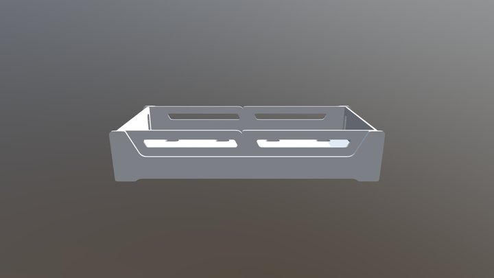 CAMA EVOLUTIVA ANIS TAMANHO 78X188 3D Model