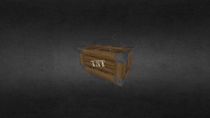 Crate - 1st Year Uni Assignment 3D Model
