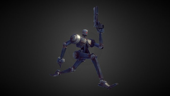 Popbot 3D Model