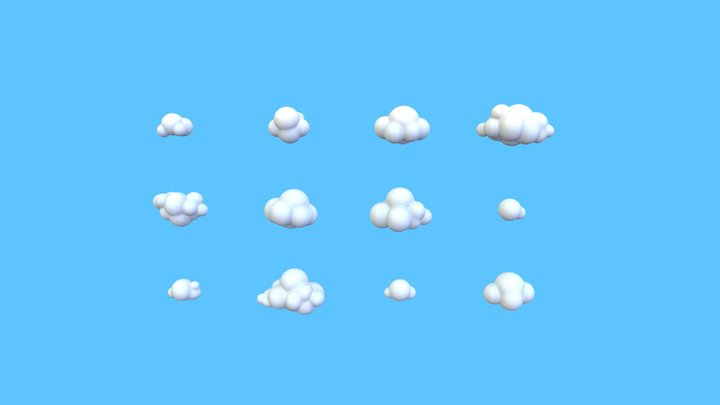 Cloud Pack 3D Model