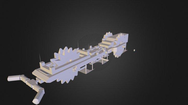 propuesta_tres_X-Plorer 28_03A.obj 3D Model