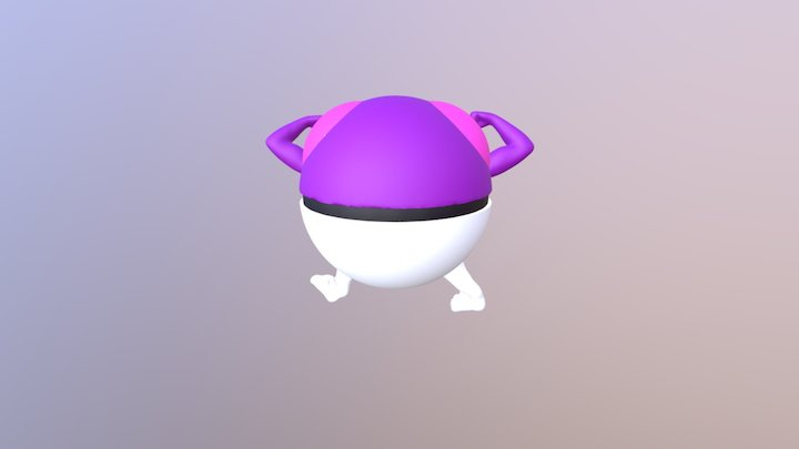 Mutant Masterball 3D Model