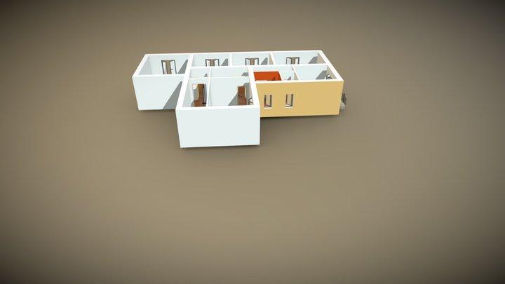 Buenos Aires - Genova 3D Model