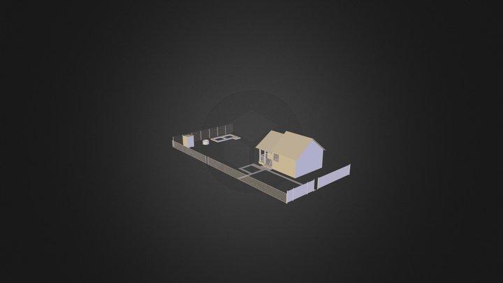 Derkatch- Dacha 3D Model